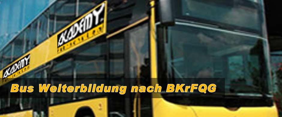 Bus Weiterbildung nach BKrFQG