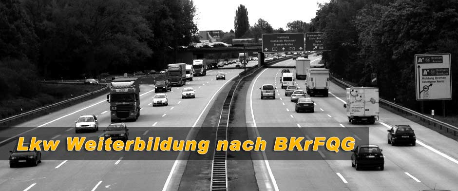 Informationen zur LKW Weiterbildung nach dem BKrFQG